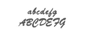 フォントF09